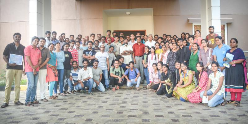 After short term course on molecular dynamics by Prof. Deva Priyakumar